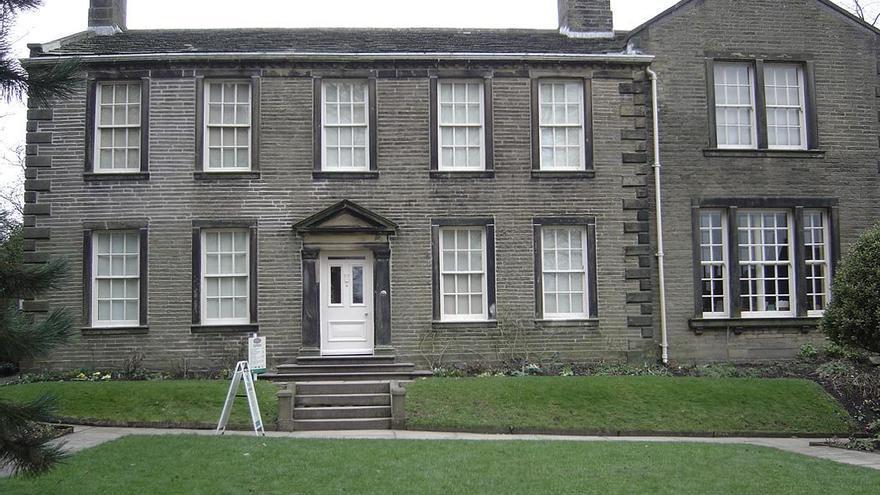 Casa de los Brönte, actualmente reconvertida en museo. (DP).