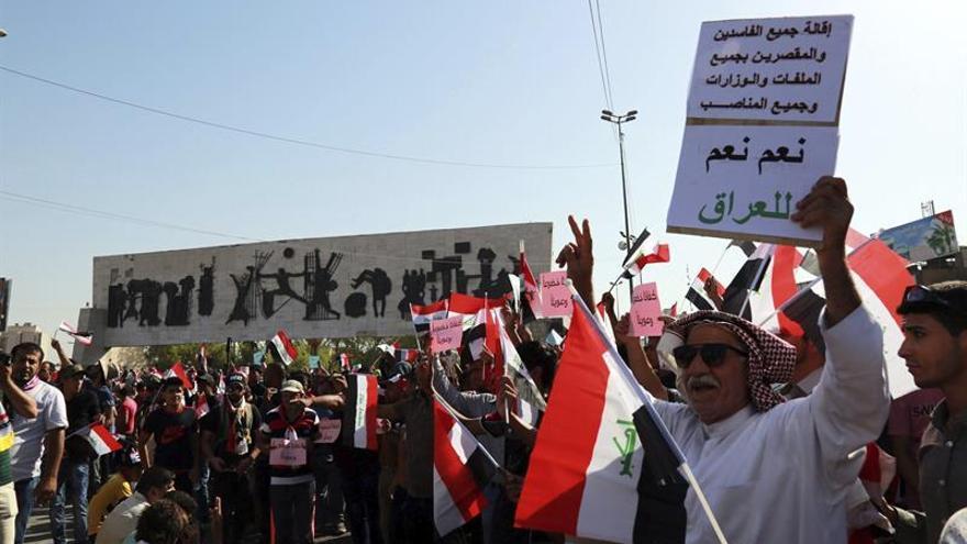 Seguidores de un clérigo chií en segundo día huelga en Irak para exigir reformas