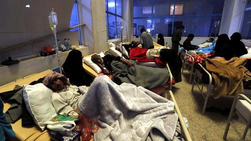 Los muertos por cólera en el Yemen llegan a 656, un cuarto de ellos son niños