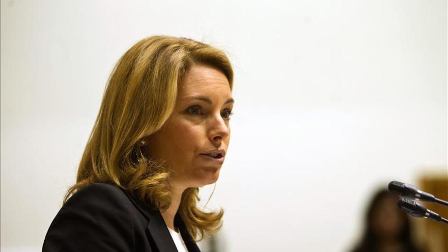 Cospedal descarta un congreso del PP vasco y defiende que la dirección elija sucesor
