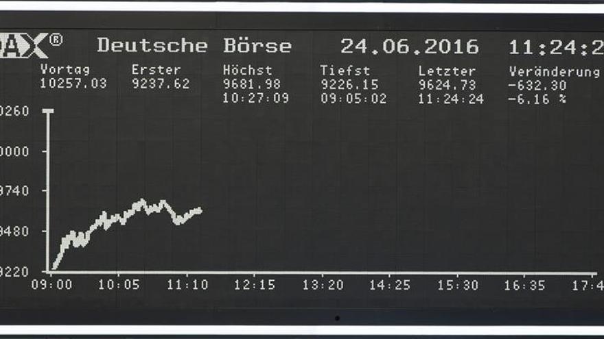 El DAX 30 alemán sube un 0,36 % en la apertura, hasta los 10.424,17 puntos