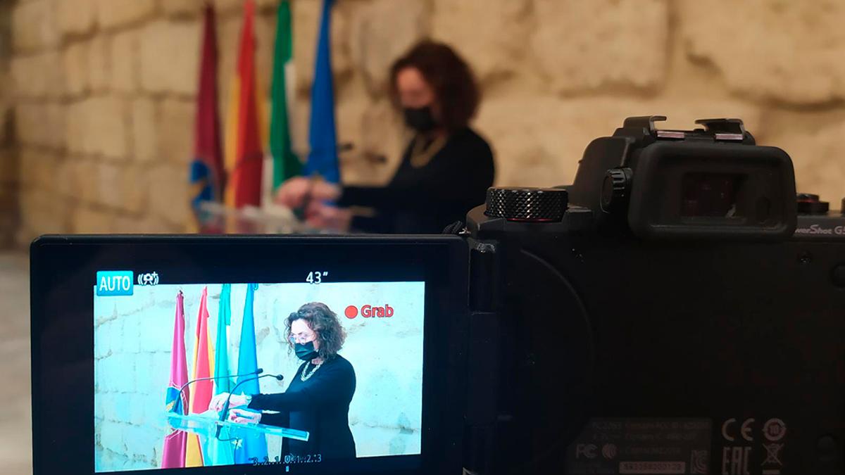La concejala del PSOE Maribel Baena.