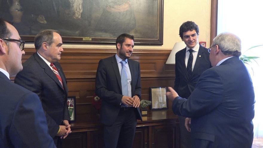 Rementeria recibe a una delegación de Maryland (EE.UU.) para abordar intereses comunes en biociencia y economía plateada