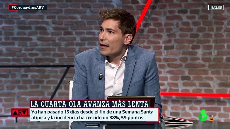 Juanma Moreno en su vuelta a 'Al rojo vivo'