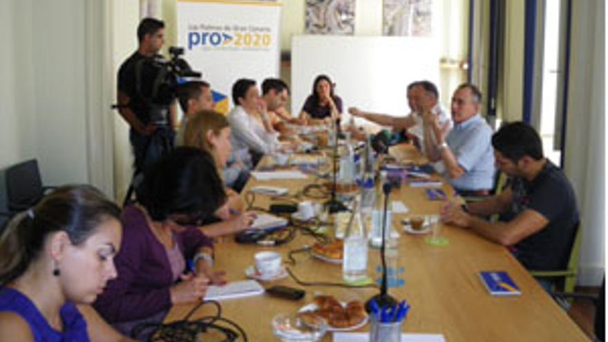 Desayuno de la asociación con los medios de comunicación.