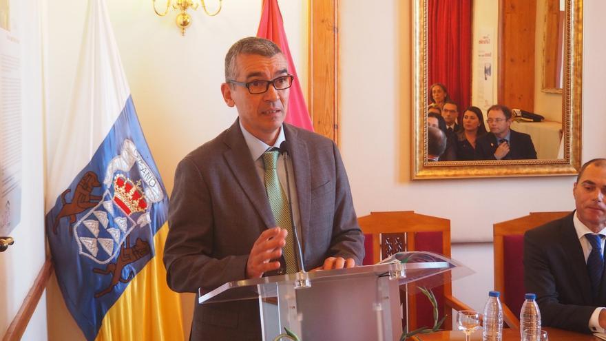 José Rodríguez Escudero el día de la lectura del pregón del Corpus. Foto: JOSÉ AYUT.