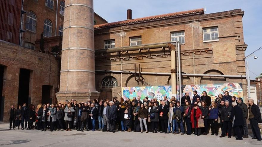Presentación del programa Aracoop, en Barcelona.
