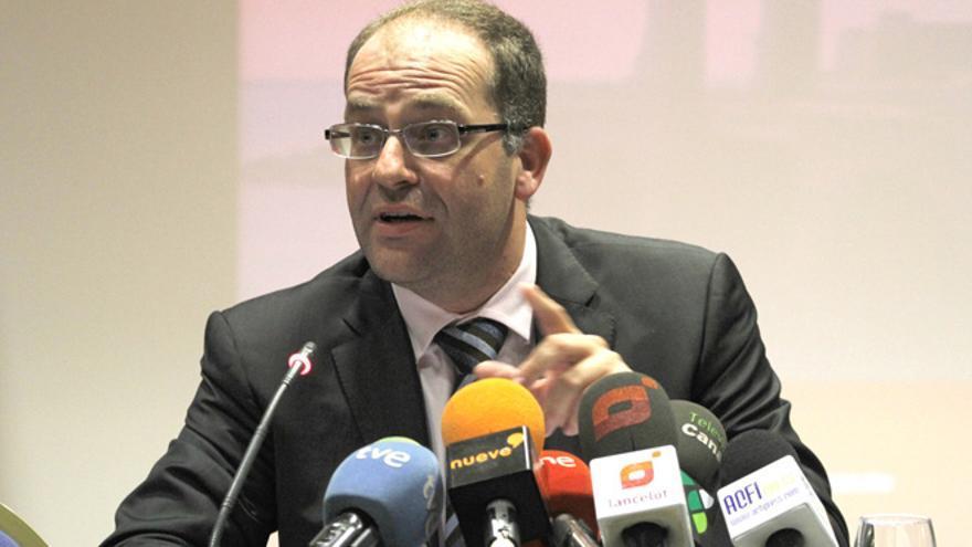 El juez César Romero Pamparacuatro. FOTO: Diario de Lanzarote.