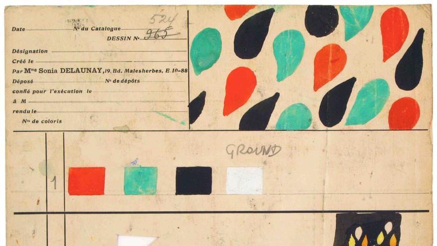 Carta de color para diseño