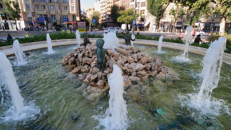 Fuente de la plaza de Chamberí | AYUNTAMIENTO DE MADRID