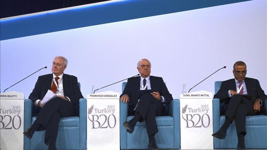 El presidente del BBVA apela a una unión aún mayor contra el terrorismo