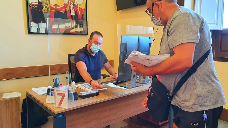 Los servicios de atención al ciudadano en el Ayuntamiento de La Orotava se han adaptado a las nuevas necesidades de control del virus.