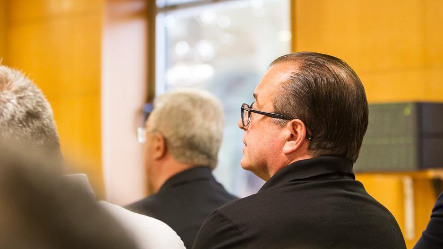 Pedro González en el juicio de Las Teresitas (Aarón S. Ramos)