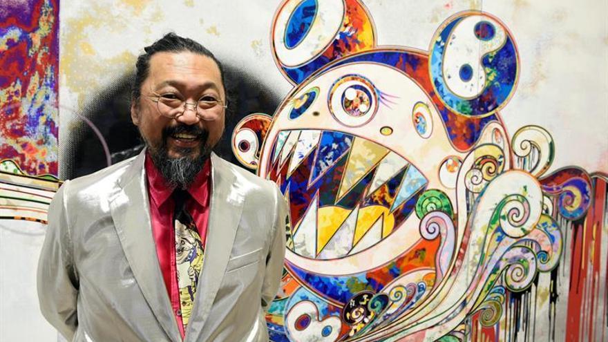 El 'Andy Warhol japonés' expone sus pinturas en Torrelodones