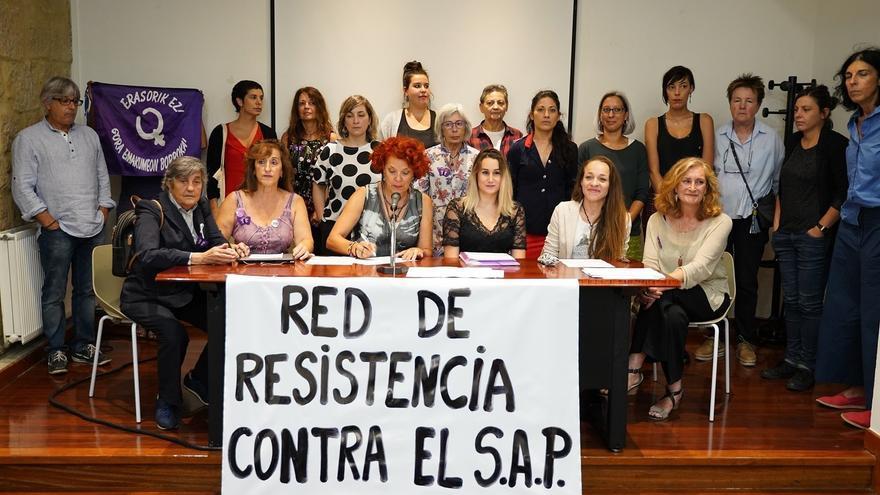 Presentación de la Red de Resistencia contra el síndrome de alienación parental en Bilbao