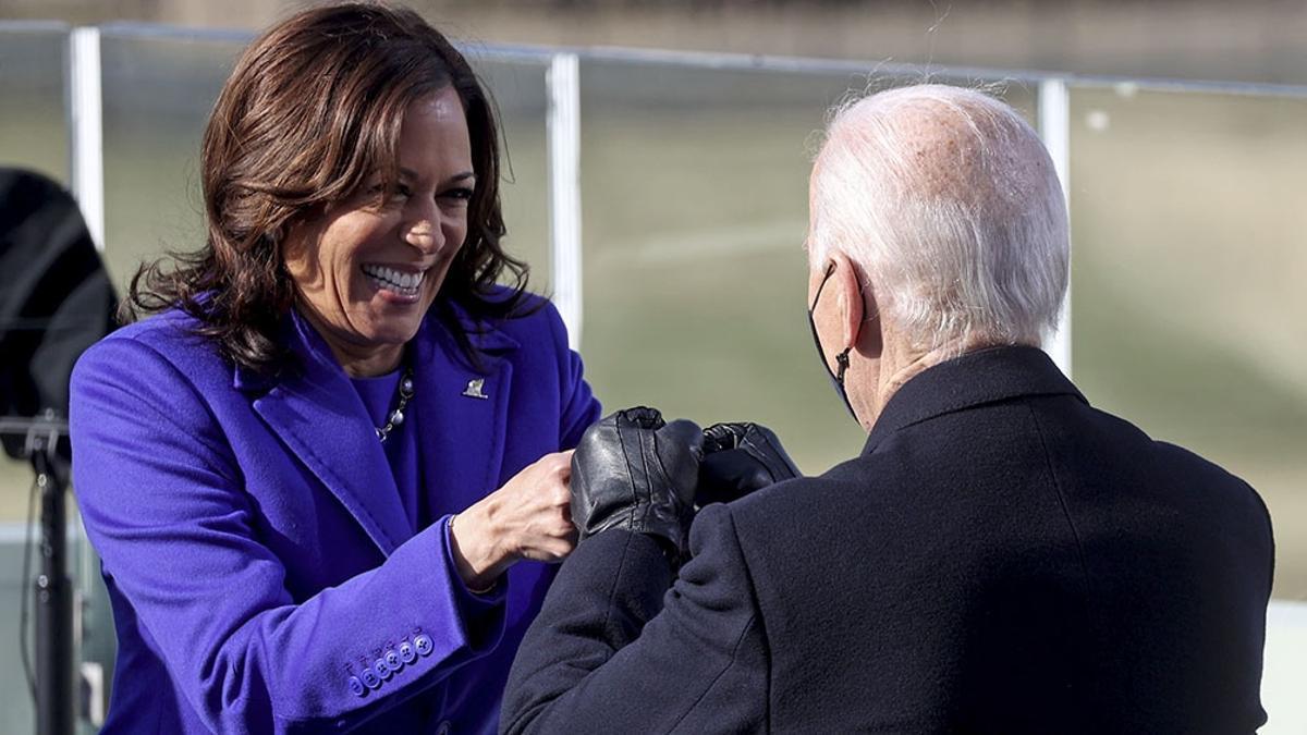 Kamala Harris, vicepresidenta de los Estados Unidos.