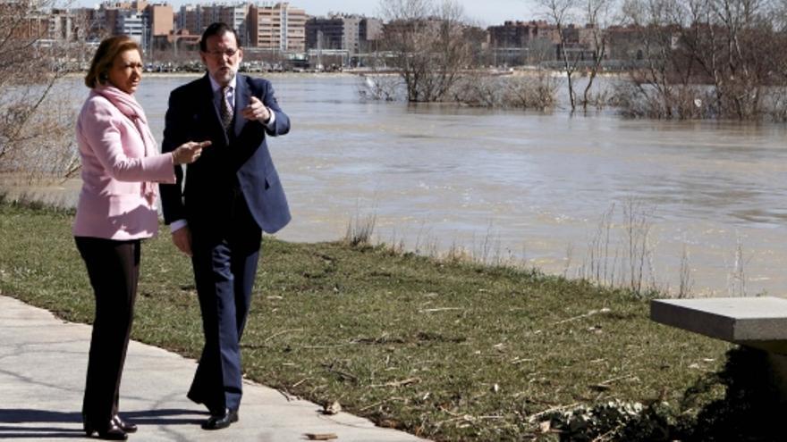 Rajoy ha visitado la Expo junto con Luisa Fernanda Rudi