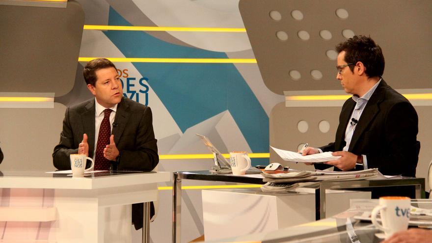 Emiliano García-Page en los desayunos de TVE