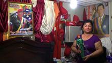 """Fotograma cedido por la directora venezolana Anabel Rodríguez Ríos de una escena de su documental """"Once Upon a Time in Venezuela"""" (Había una vez en Venezuela) donde aparece su protagonista Tamara, una representante del partido chavista."""