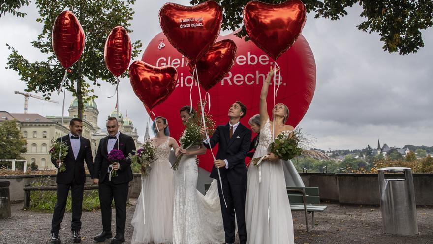 Suiza adopta por referéndum el matrimonio entre personas del mismo sexo