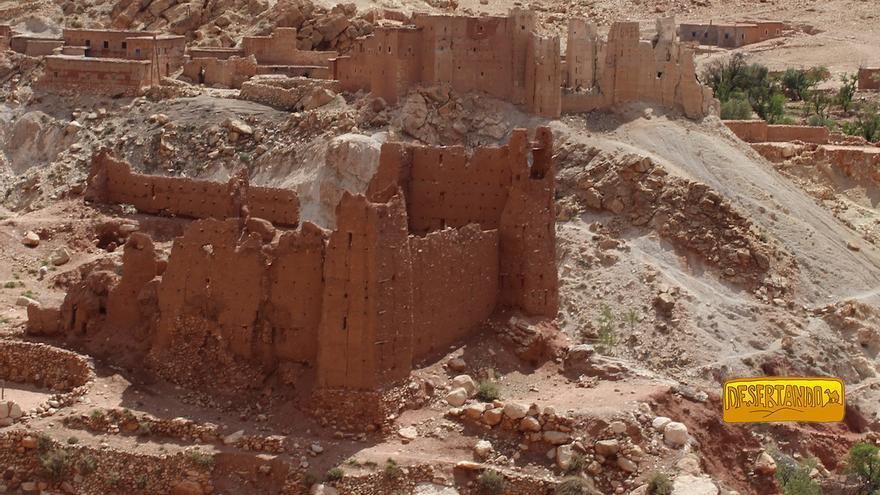 El palacio de El Glaoui (Telouet).