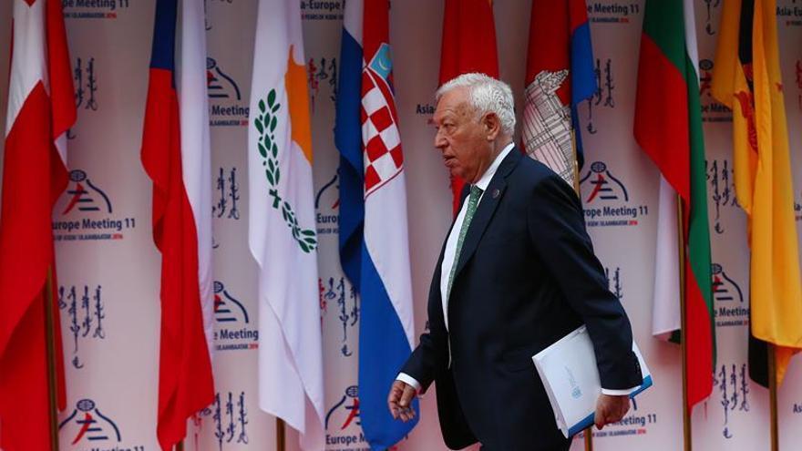 """Margallo apuesta por una """"verdadera vertebración"""" del continente euroasiático"""
