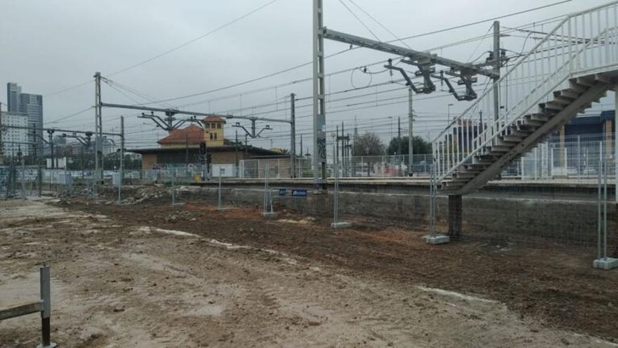 FGV talla fins a setembre la seua línia 1 de metro a Burjassot per a realitzar obres de soterrament de les vies
