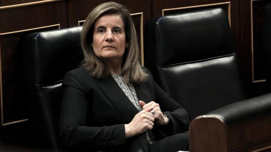 Fátima Báñez valora los datos de Eurostat con España como país en el que más bajó el desempleo