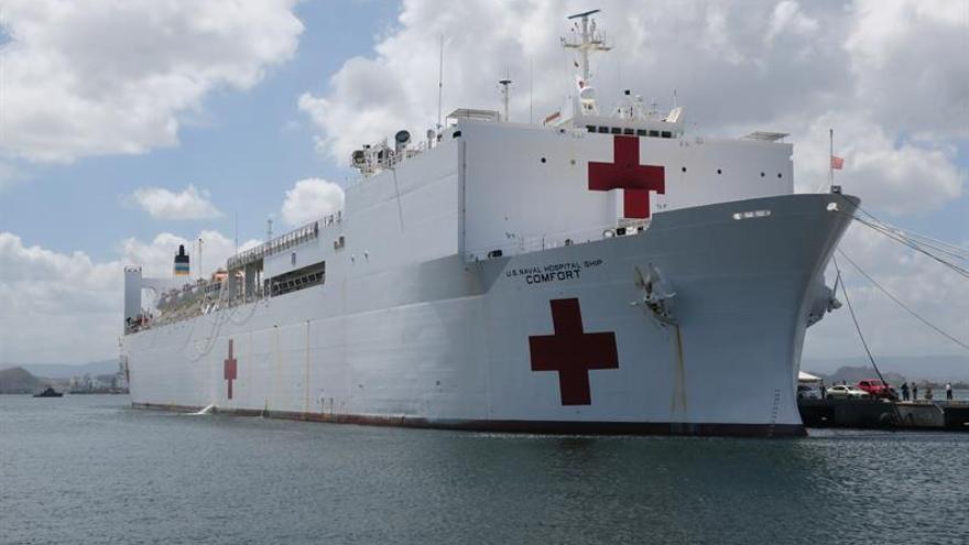 El buque hospital USNS Comfort atenderá 500 consultas diarias en Colombia