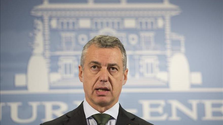 Urkullu expresará al Rey su confianza en el diálogo y la negociación