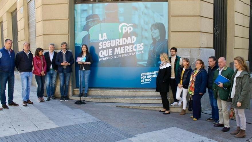 Comerón (PP) propone abrir una nueva comisaría de Policía Local en la calle Olaguíbel de Vitoria