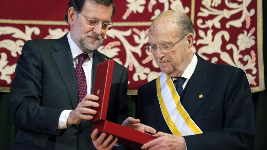 Rajoy y Feijóo destacan el ejemplo de Albor como guía ante las dificultades