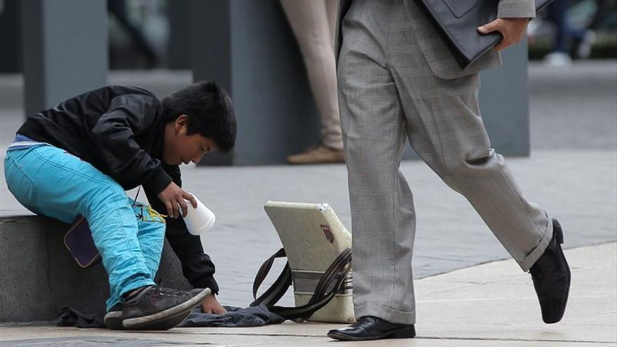 Cerca de 2,5 millones de niños trabajan en un México azotado por la pobreza