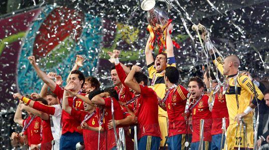 """La televisión mundial se rinde a La Roja: """"A Spanish masterclass"""""""