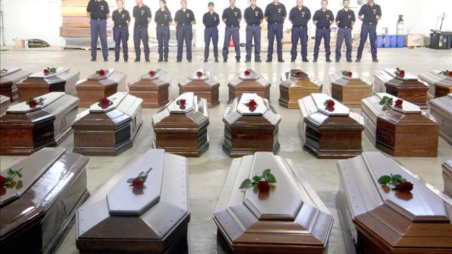 Se reanuda la búsqueda submarina de las víctimas del naufragio en Lampedusa