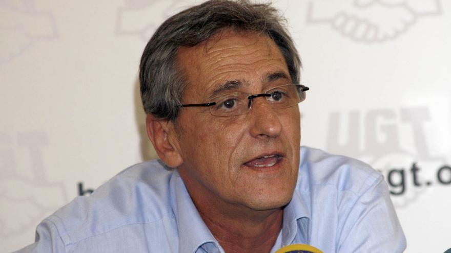 Francisco Fonte, secretario de UGT en Canarias. (CANARIAS AHORA)
