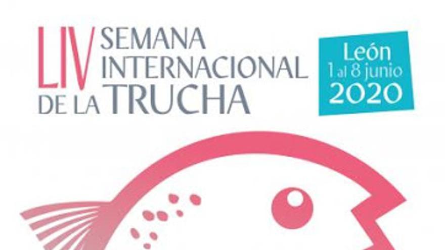 Cartel de la Edición de la Semana Internacional de la Trucha de León