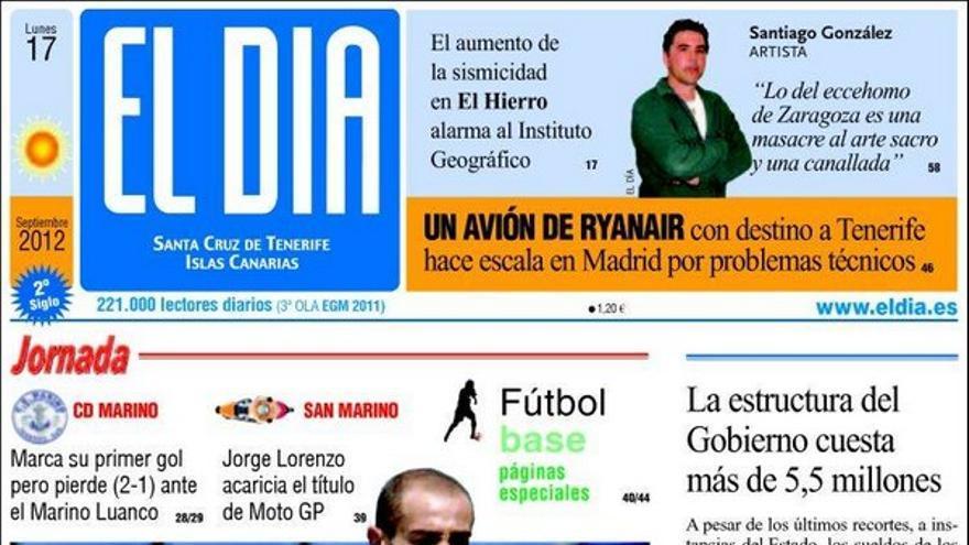 De las portadas del día (17/09/2012) #4