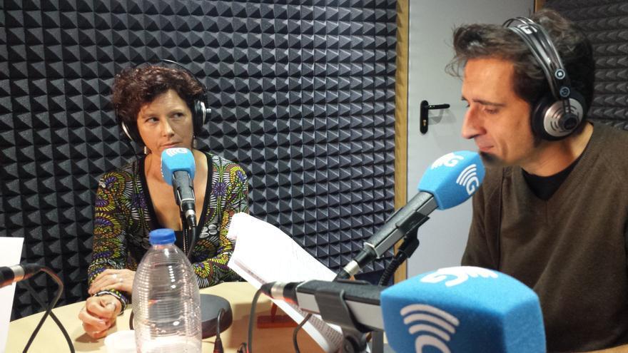Icíar Bollaín y Javier Gallego