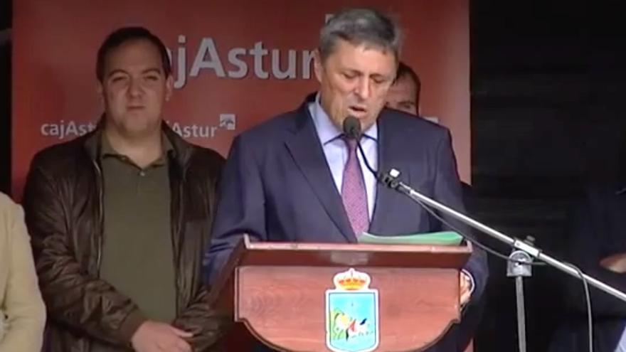 Juan Carlos Fernández-Cernuda, en la 43 edición del Festival de la Avellana