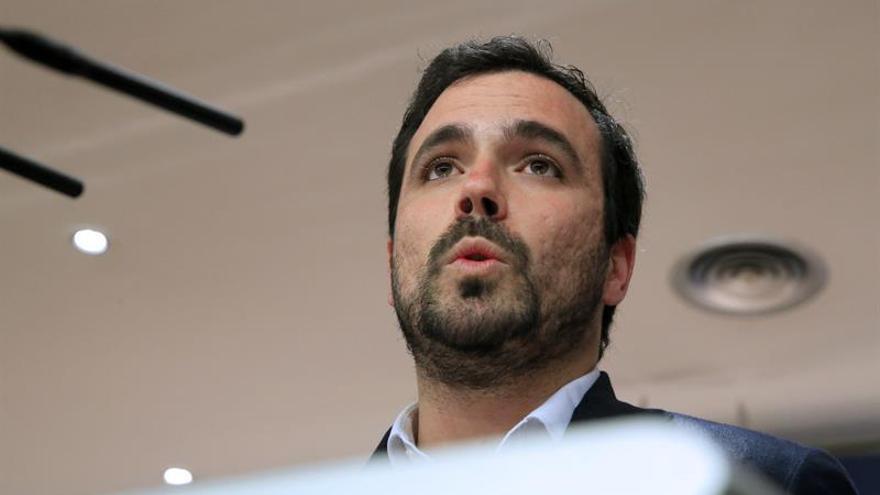 Garzón afirma que la posición en las listas es elemento secundario de negociación con Podemos