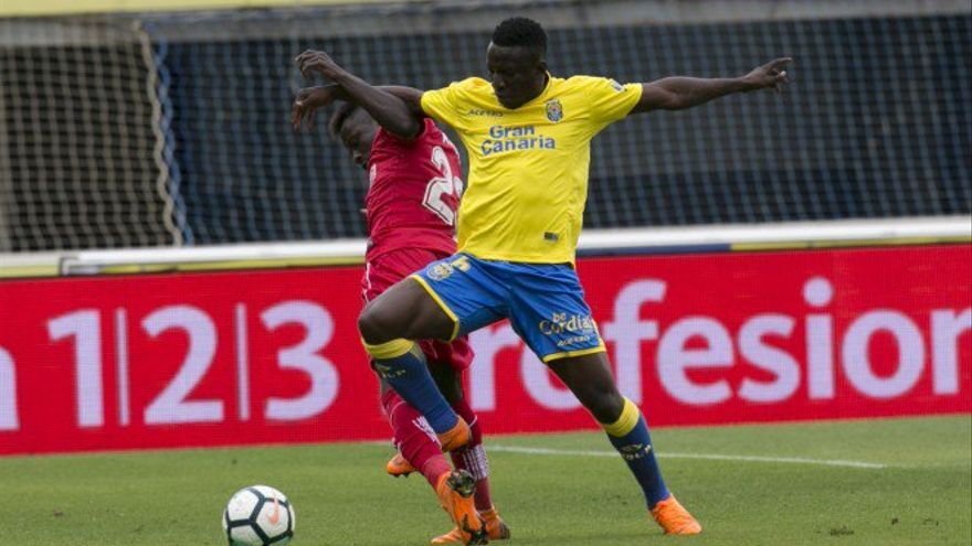 Etebo, jugador de la Unión Deportiva Las Palmas