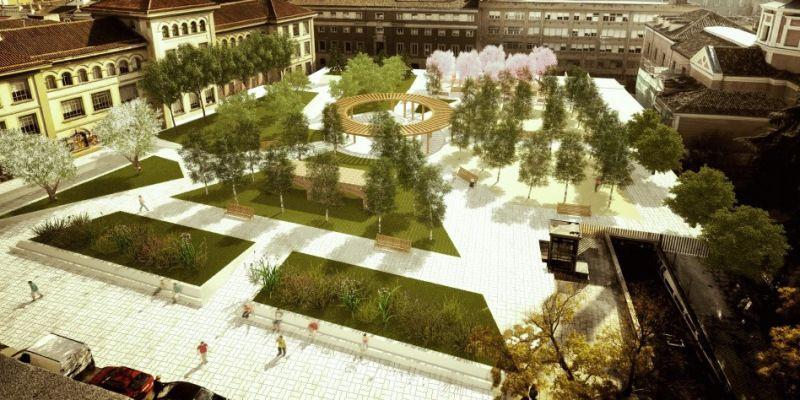 """Diseño """"O"""" para los Jardines del Arquitecto Ribera"""