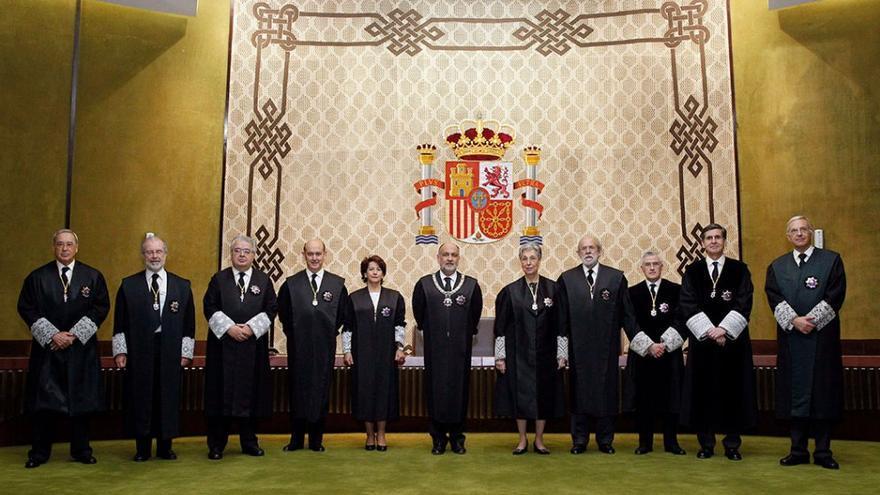 Jueces del Tribunal Constitucional. (EFE)