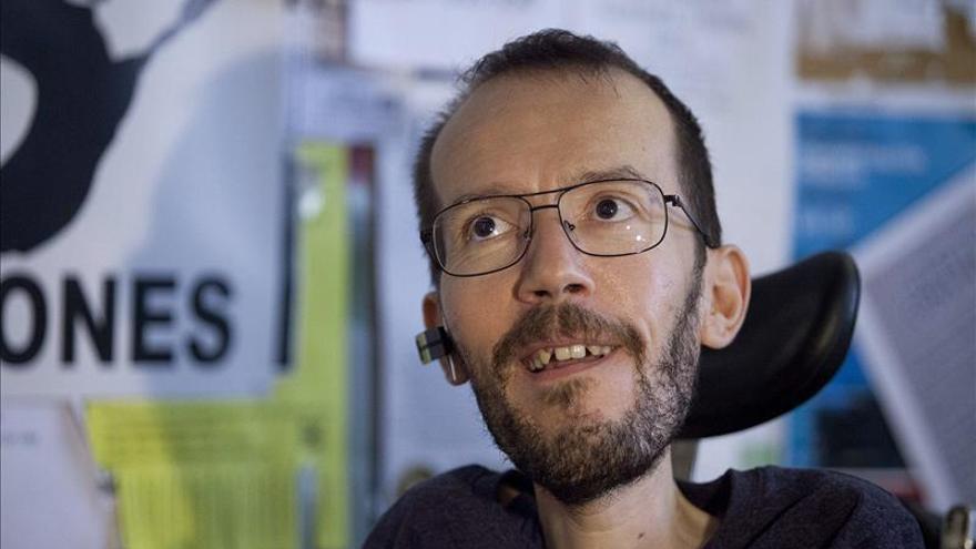 Echenique anuncia lista complementaria a la de Iglesias para dirigir Podemos
