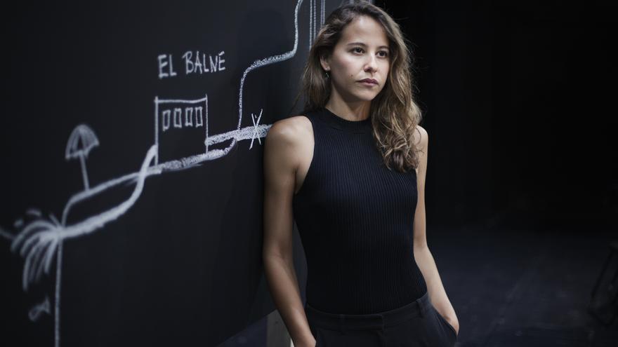 Irene Escolar, durante la función 'Un enemigo del pueblo'