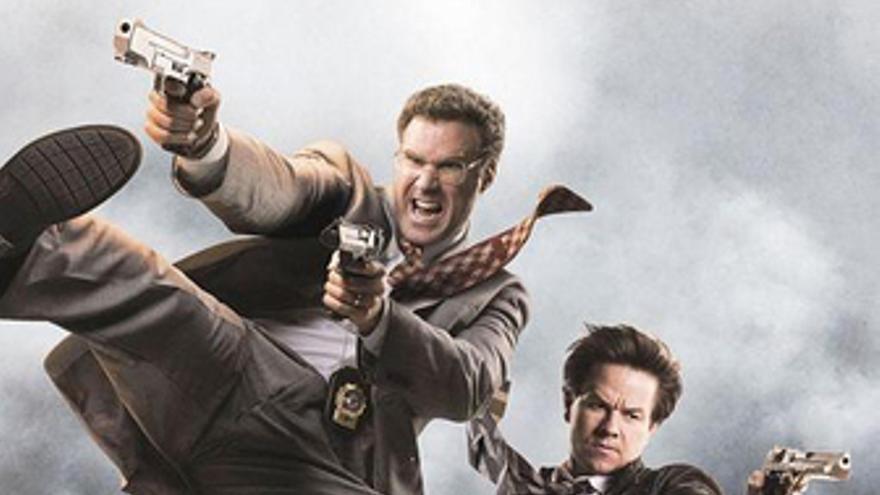 Wahlberg y Ferrell en Los otros Dos