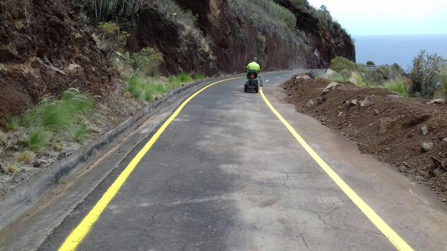 En la imagen, la carretera de Martín Luis.