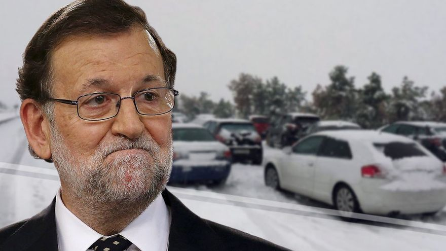A Rajoy le salpica el atasco monumental de la AP6. (CA).