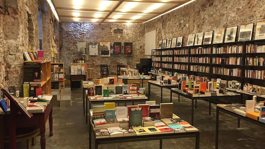 La Llibreria Calders vacía